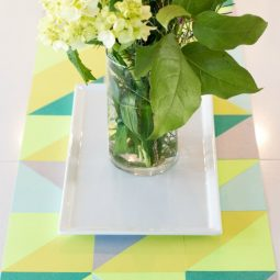 A night runner diy paper spring table runner_13.jpg