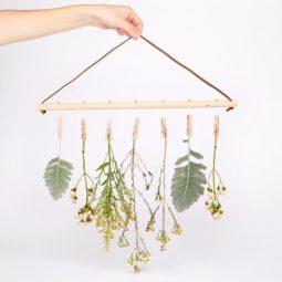 Blog post flower hanger