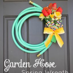 Create craft love garden hose spring wreath.jpg