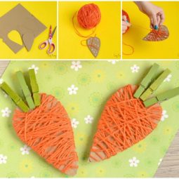 Cute yarn wrapped carrots craft for kids.jpg