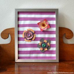 Hello little home diy spring flower art 3.jpg