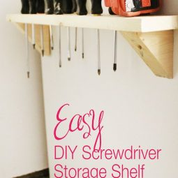 Diy screwdriver storage 18 brilliant garage organization ideas.jpg